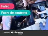 No, el video que circuló por Facebook no es del rescate de un auto atrapado en el desplome del Metro de Ciudad de México