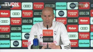 """Zidane responde a la UEFA: """"Tenemos derecho a jugar la Champions"""""""