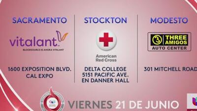 ¡Faltan solo horas para el Día de Donar Sangre!