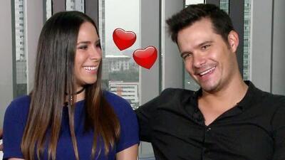Historia de amor: Brandon Peniche nos presenta a su prometida y juntos dan detalles de su boda