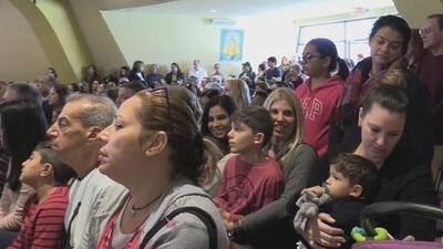 Los niños, protagonistas de la celebración del Día de Reyes en la Ermita de la Caridad