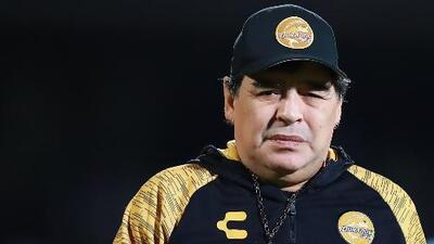 Sancionan a Maradona por dedicarle un triunfo de los Dorados de Sinaloa a Nicolás Maduro