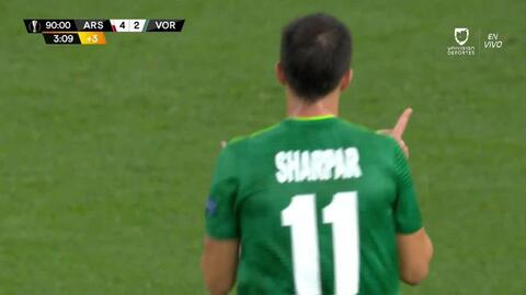 ¡GOOOL! Vyacheslav Sharpar anota para Vorskla Poltava