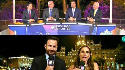 ¡Preparados! Univision Deportes ya están en Madrid para la Final de la Champions League