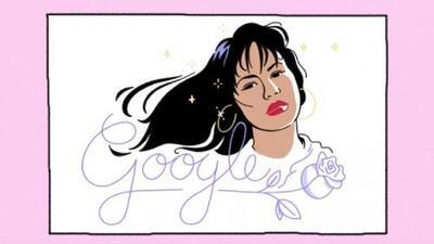 El doodle de Google que le rinde homenaje a Selena Quintanilla