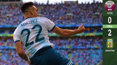 Argentina echó a Catar y busca vendetta con Venezuela en Cuartos de Final