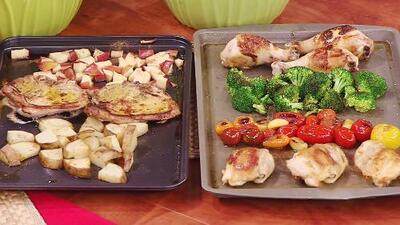 Una comida completa en una sola bandeja: cuatro opciones para alimentar a toda tu familia esta semana