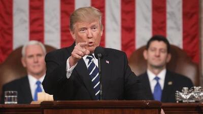 Expectativa por el primer discurso del presidente Donald Trump sobre el Estado de la Unión