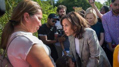 El sorpresivo ascenso de Kamala Harris entre los votantes hispanos