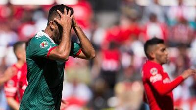 Hedgardo Marín fue separado indefinidamente del plantel de Chivas por indisciplina