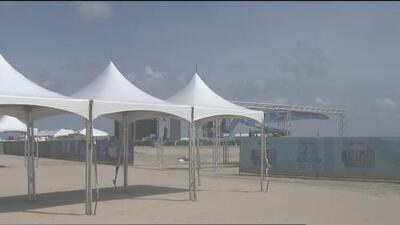 Galveston se prepara para la gran fiesta del Uforia Latino Mix Live y se han reforzado las medidas de seguridad