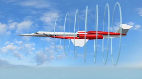 Animación: Los aviones supersónicos AS2 que prometen reducir los tiempos de vuelo