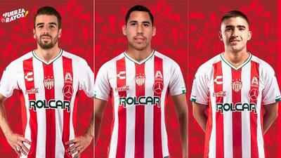 ¡Refuerzos de rayo! Necaxa anuncia sus primeros fichajes del Apertura 2019