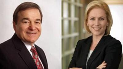 Debate entre Joseph Dioguardi y Kirsten Gillibrand