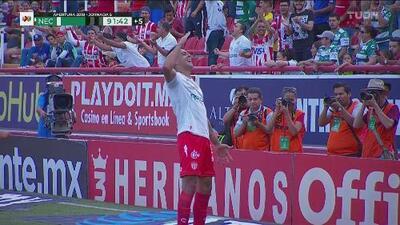 Mauro Quiroga sella la victoria de Necaxa