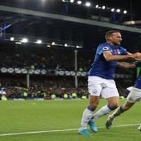 En el descuento, Everton logró el empate ante Tottenham