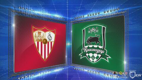 Sevilla 3-0 Krasnodar - GOLES Y RESUMEN - Grupo J - UEFA Europa League