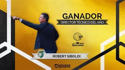 Robert Dante Siboldi: ganador del Balón de Oro como Director Técnico del Año