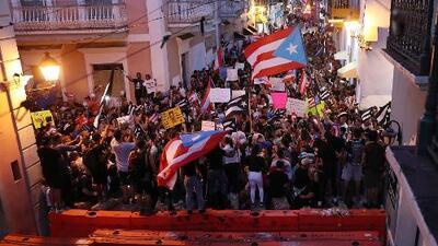 Los anuncios de Ricardo Rosselló no convencen: se intensifican las protestas exigiendo su renuncia en Puerto Rico