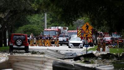 """""""La tierra se movió y el techo nos cayó encima"""": testigos de la explosión en Plantation narran los momentos de horror que vivieron"""