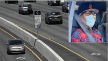 Conductor en Los Ángeles engaña con un maniquí a la Patrulla de Caminos por más de un año