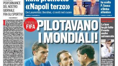 La FIFA arregló partidos del Mundial del 2002 según periódico Italiano