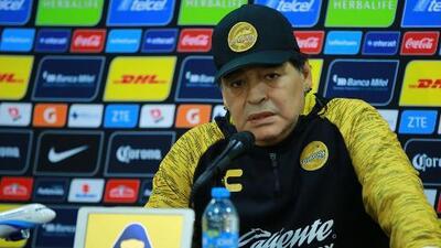 """Maradona no conoce de humildad: """"No quiero felicitar a Marioni porque le regalé el triunfo"""""""