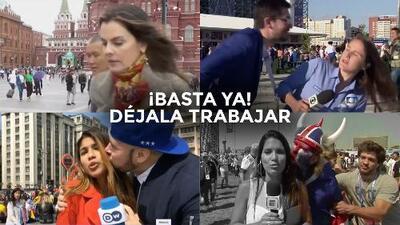 ¡Basta, déjala trabajar! Buscando frenar el acoso sexual a periodistas durante el Mundial