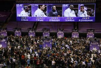 El Media Day del Super Bowl XLIX