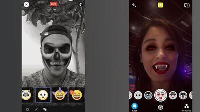 Facebook terminó la tarea: ahora tiene filtros tipo Snapchat
