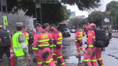 A un mes del terremoto en la Ciudad de México, rescatistas narran sus vivencias
