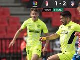 Atlético de Madrid vence al Granada y se afianza en la cima