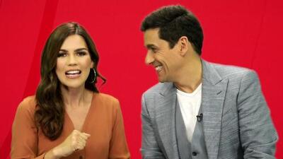 ¡Karina Banda entrevista al Cupido (sin alas) de Enamorándonos!
