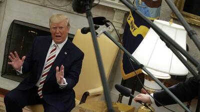 Trump confirma que estudia recortar impuestos a los salarios en medio de temores de una recesión