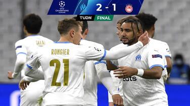 ¡Milagro!... por fin ganó el Olympique de Marseille en Champions