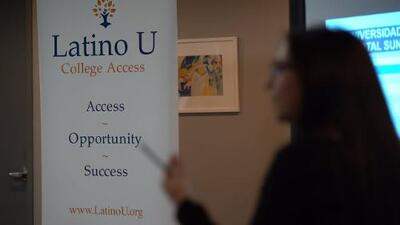 Si estás pensando aplicar a la universidad, esta organización pudiera ayudarte con el proceso