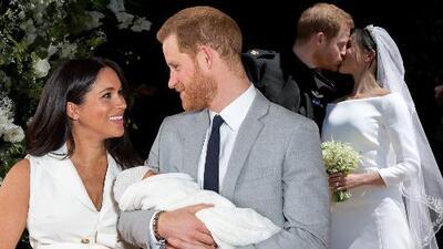 Con fotos nunca antes vistas, Meghan Markle y el príncipe Harry conmemoran un año casados