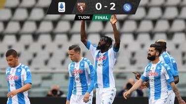 Con Chucky, Napoli venció a Torino y está en puestos de Champions