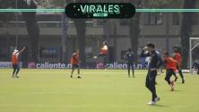 Memo Ochoa y Carlos Salcedo 'ganan' con golazos en entrenamientos
