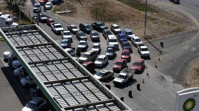 Aumenta la desesperación por el desabastecimiento de gasolina en varias zonas de México