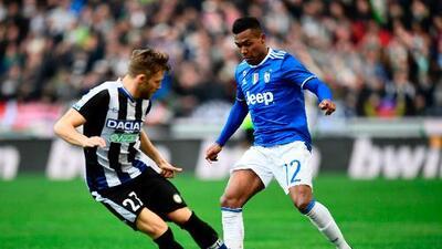 Juventus cede el empate ante Udinese y le da vida a sus perseguidores