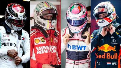 Los pilotos de la temporada 2019 de la Fórmula 1