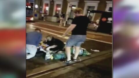 Testigo narra los momentos de terror que vivió durante el ataque en Londres