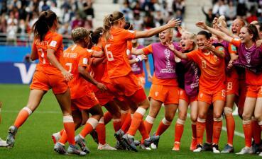 En fotos: Holanda cerró la fase de grupos del Mundial Femenino con puntaje perfecto