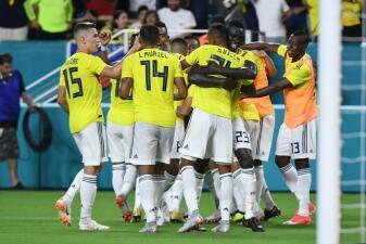 En fotos: Colombia remontó el amistoso ante Venezuela para encontrar tranquilidad