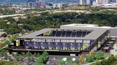 Imágenes del futuro: así será el estadio propio de Nashville SC en MLS