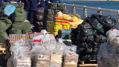 Guardia costera incauta 13 toneladas de drogas con un valor de más de $300 millones