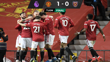 Manchester United afianza el segundo lugar ante el  West Ham