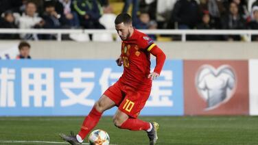 Entrenador de Bélgica dice que regreso de Hazard está cerca