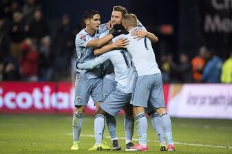 En fotos: Sporting Kansas City sufre más de la cuenta pero vence a Independiente en la Liga Campeones